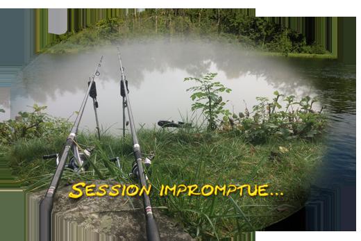 Session carpe en Eure-et-Loir